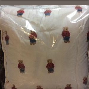 New Ralph Lauren Polo Bear Twin 2pc comforter set